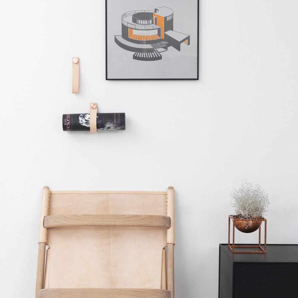 Stropp wall hook   By Lassen