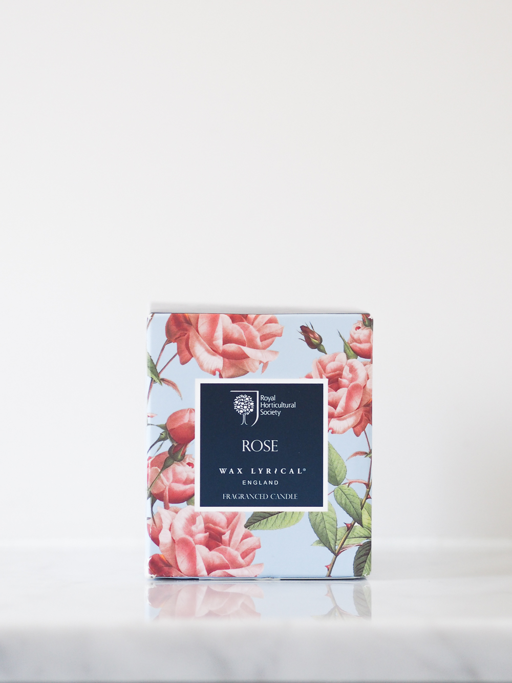 Wax Lyrical RHS Rose scented candle review | Design Hunter