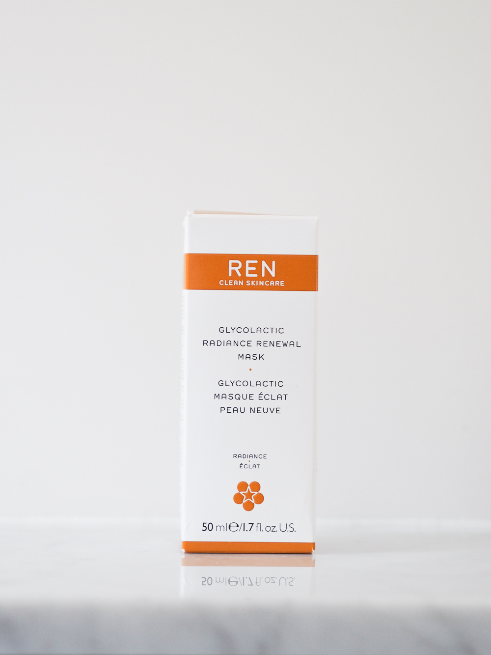 REN Glycolactic Radiance Renewal Mask review | Design Hunter
