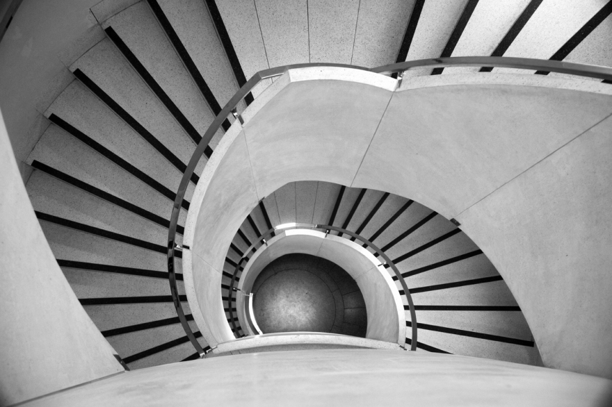 Deco Stairs by Ian Hoskin | Rise Art