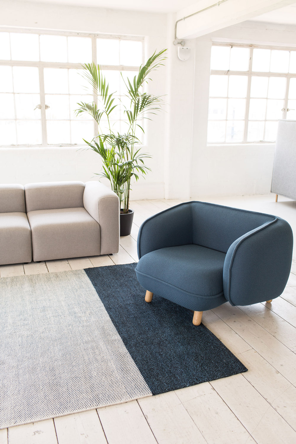 Basset lounge chair by Icons of Denmark