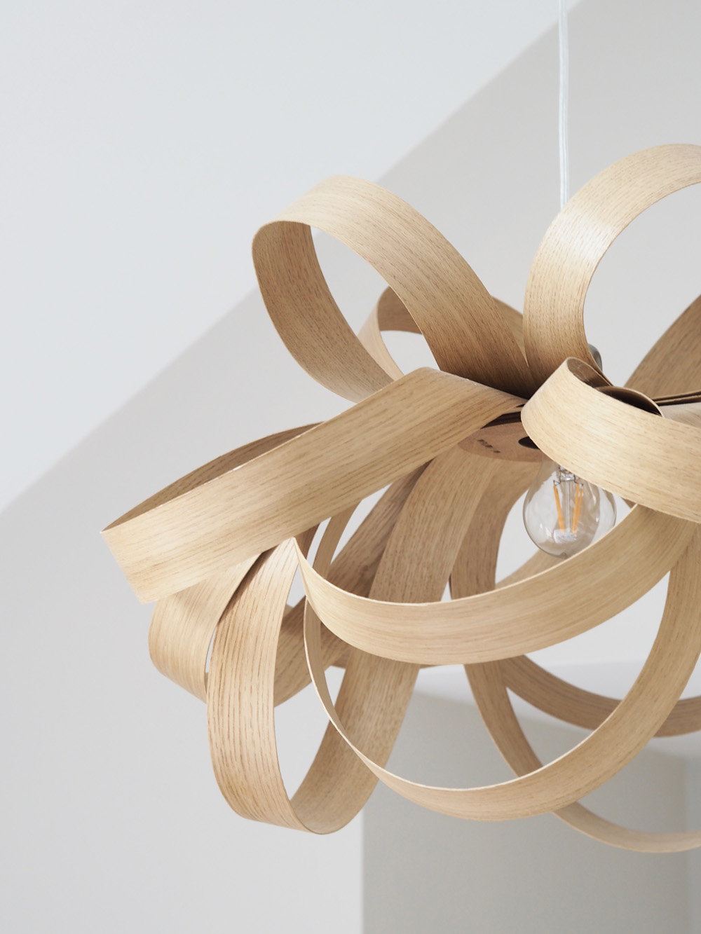 Tom Raffield pendant light