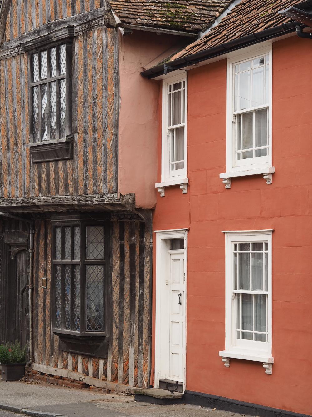 Coloured houses in Lavenham, Suffolk | Design Hunter