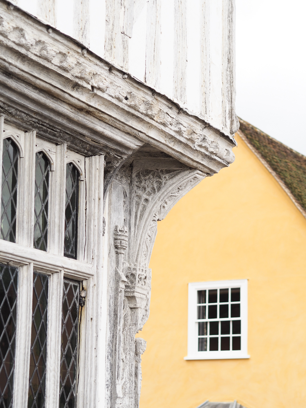 Coloured houses in Lavenham, Suffolk | Design Hunter