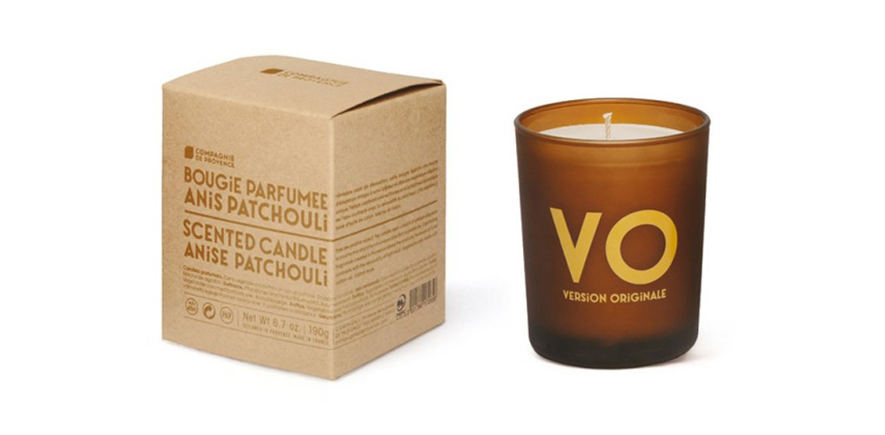 Anise Patchouli Version Originale candle by Compagnie de Provence