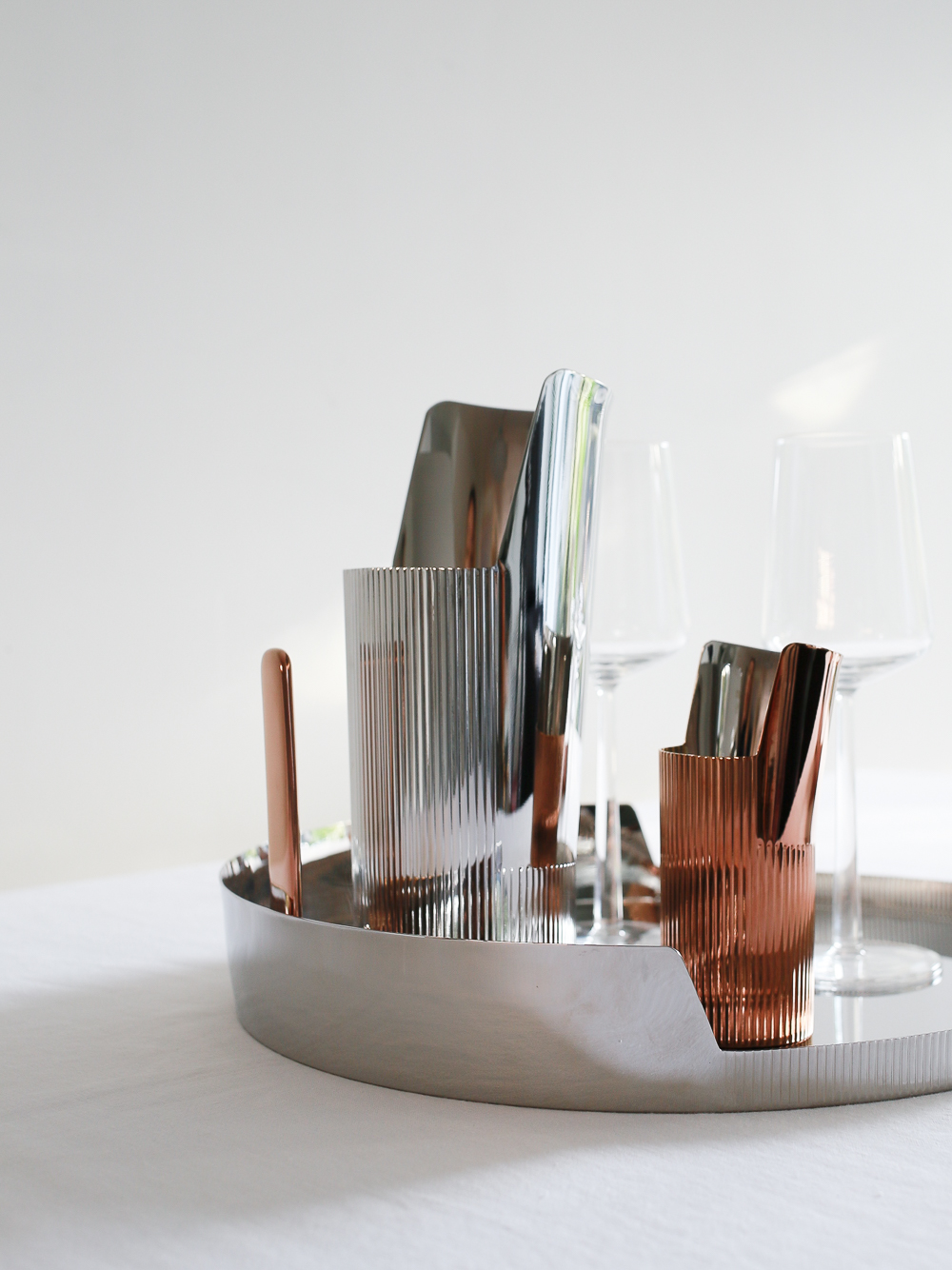 Urkiola collection by Patricia Urquiola for Georg Jensen | Photography by Design Hunter
