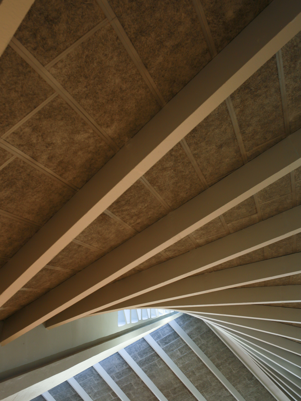 Roof detail at the new Design Museum | John Pawson