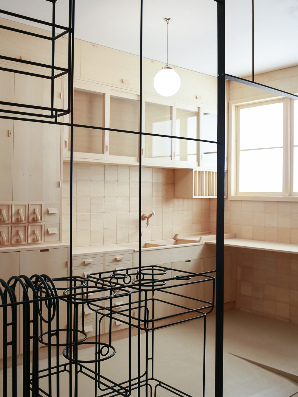 Model of the Frankfurt Kitchent | The Design Museum