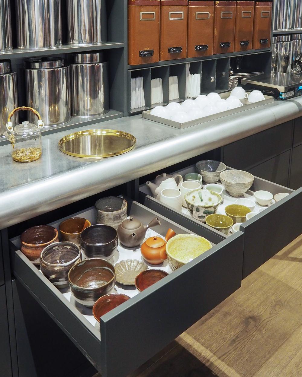 Matcha bowls at My Cup of Tea | Ham Yard Village
