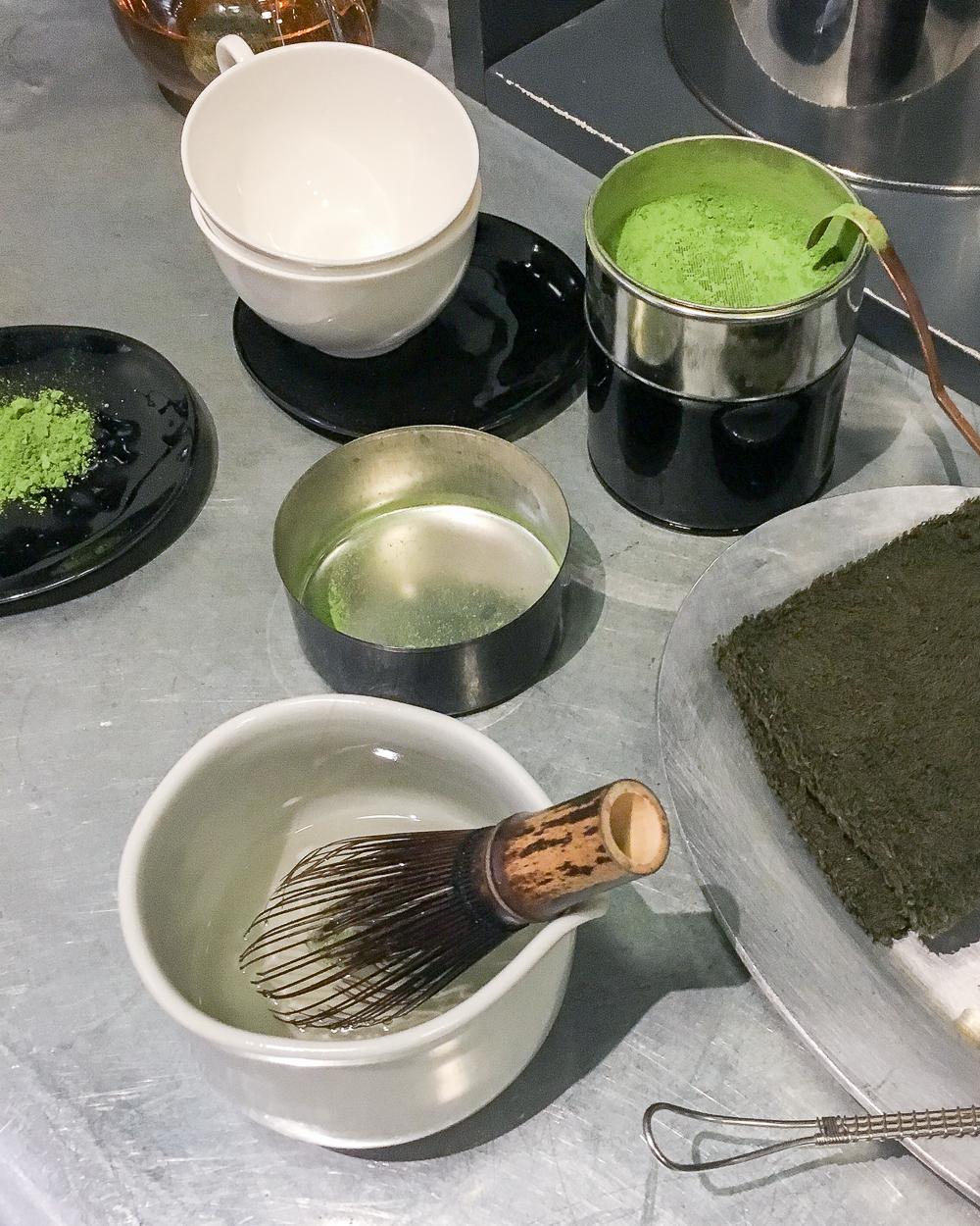 Preparing Matcha at My Cup of Tea | Ham Yard