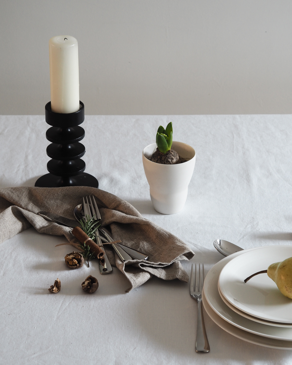 Robert Welch Malvern cutlery for festive table setting | Design Hunter