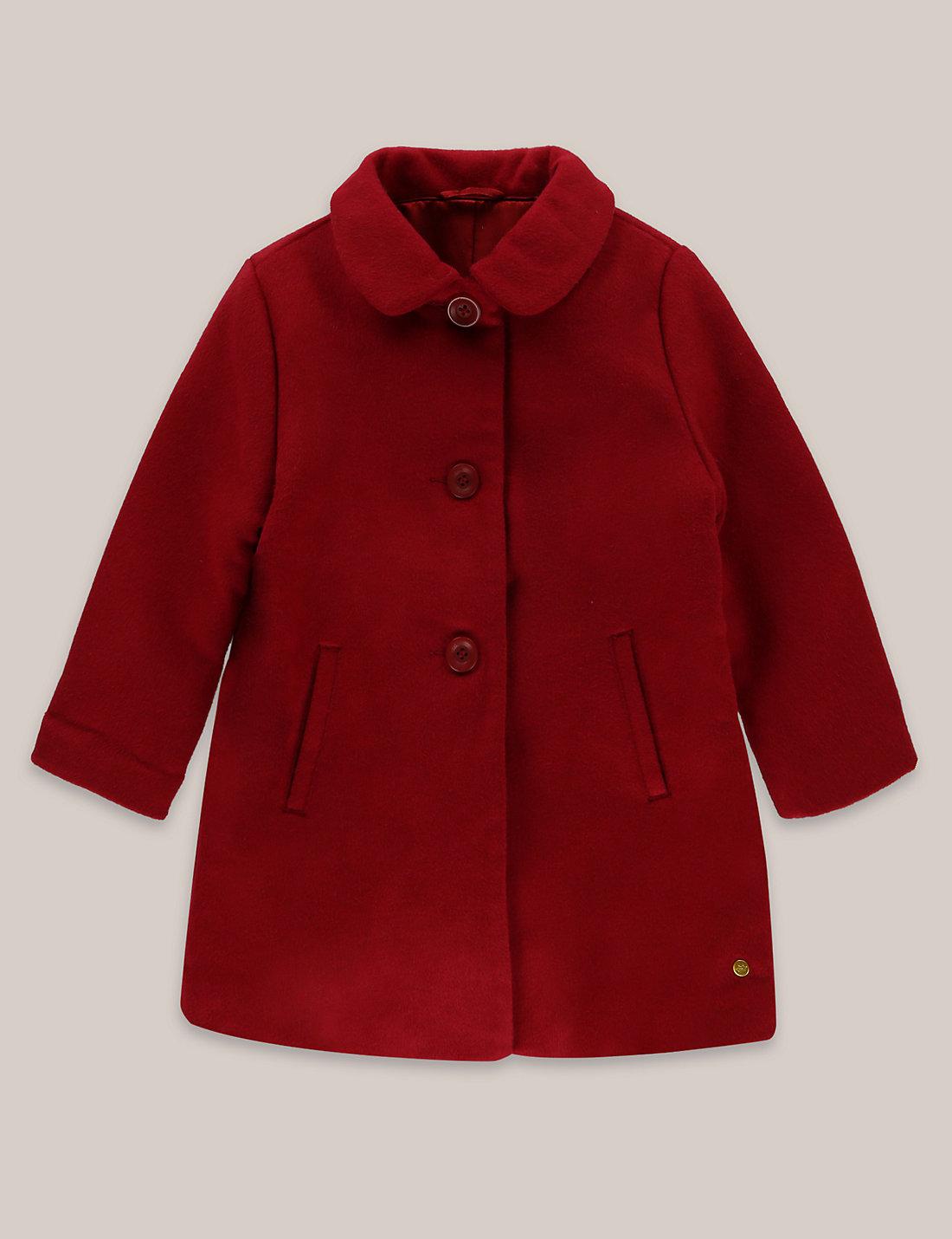 Red child's coat
