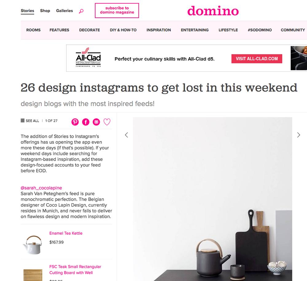 Screen shot Domino instagram feature.png