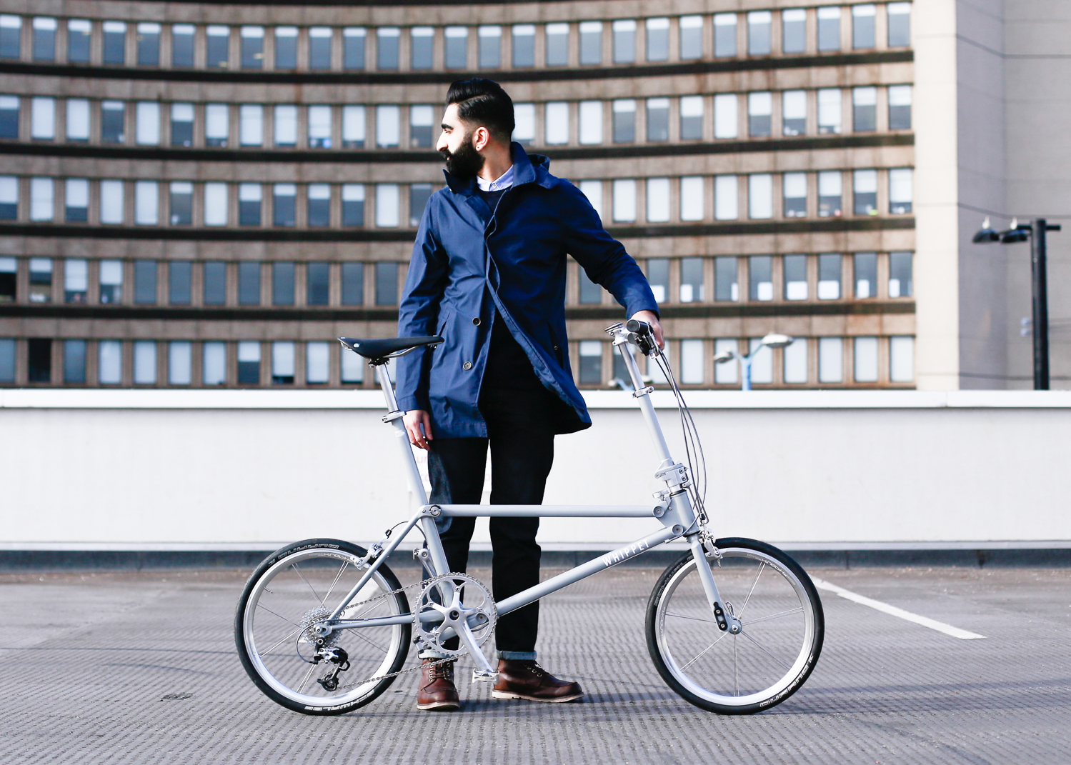 Whippet Bicycle - a new British folding bicycle