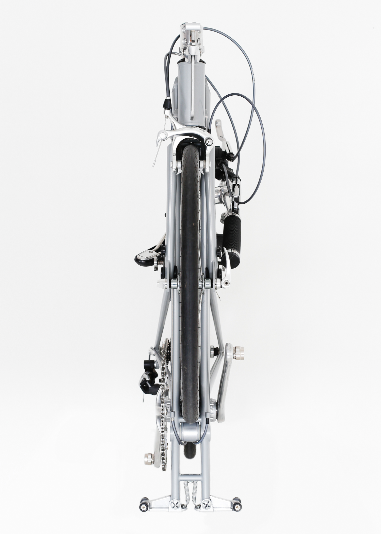 Whippet Bicycle - a new folding bicycle - slim profile