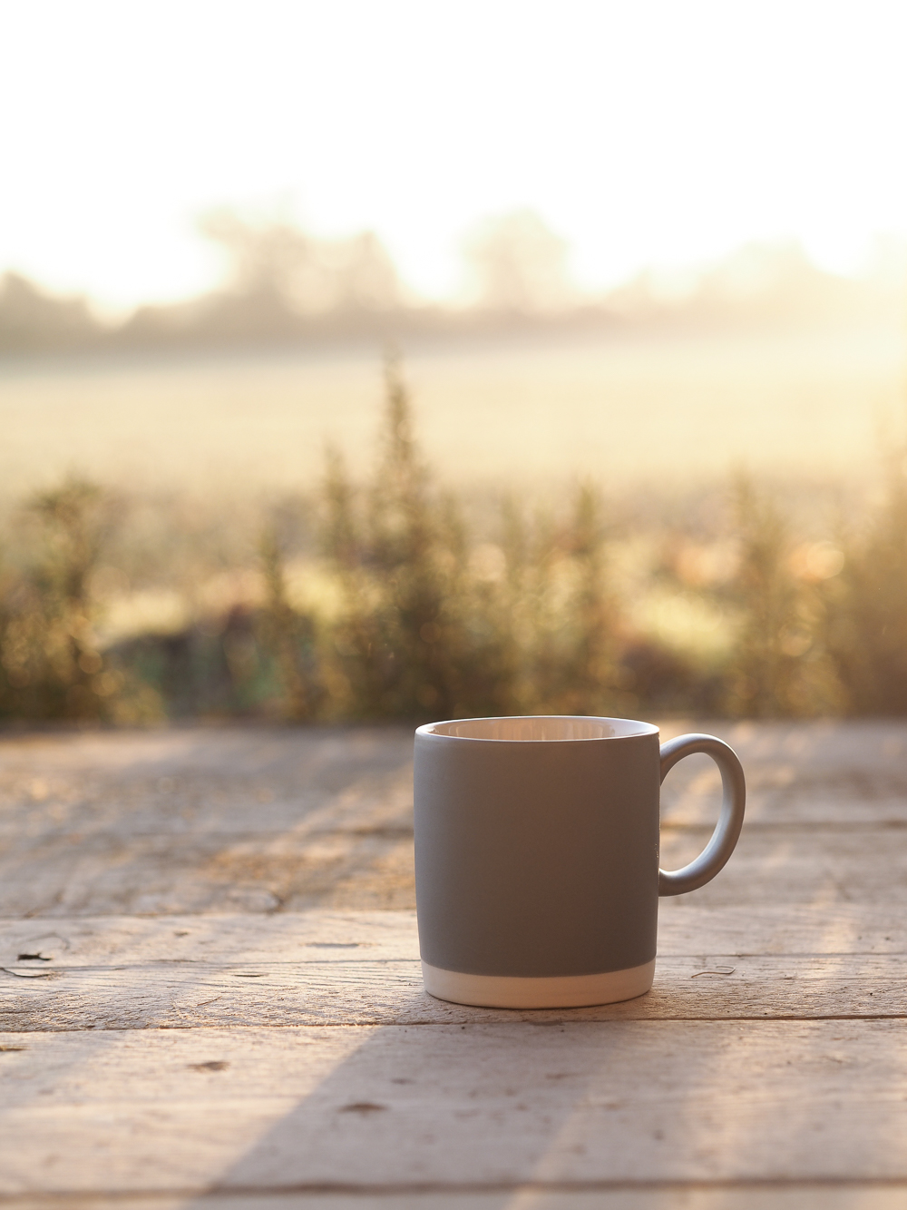 Sunrise on the porch at Tickety-Boo in Suffolk | Design Hunter