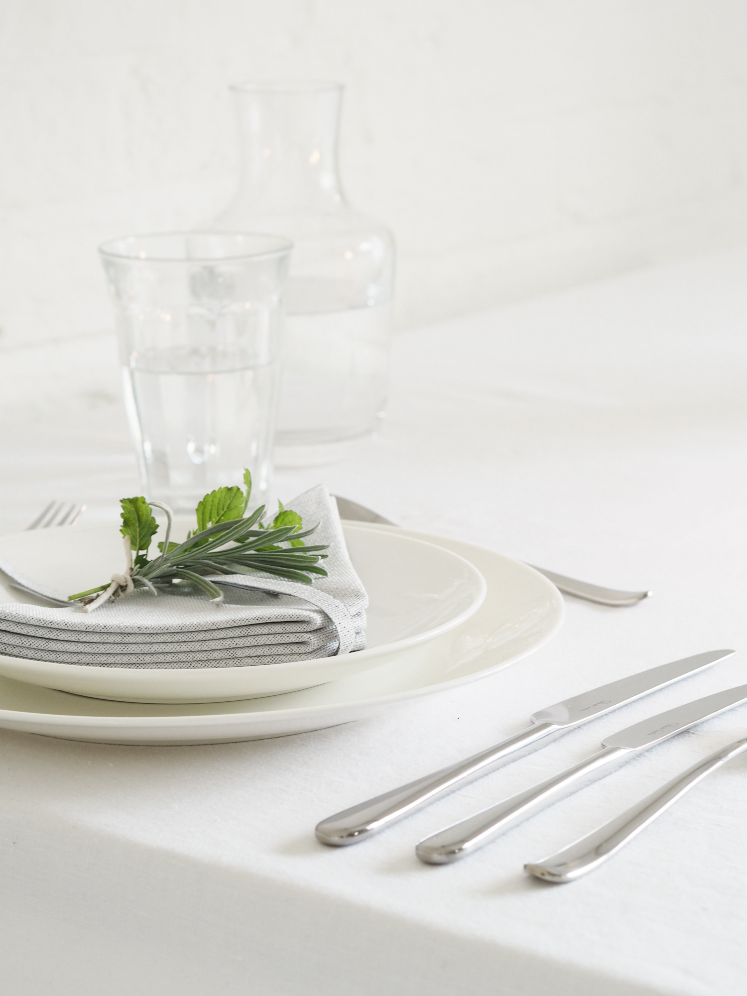 Table settting with Robert Welch cutlery | Design Hunter