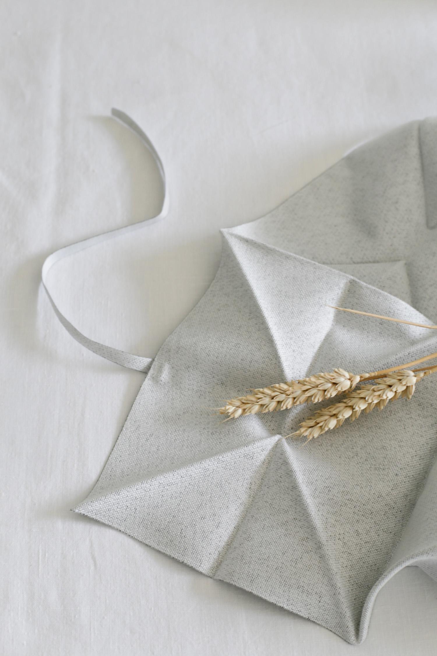 Issey Miyake napkin for iittala | Design Hunter