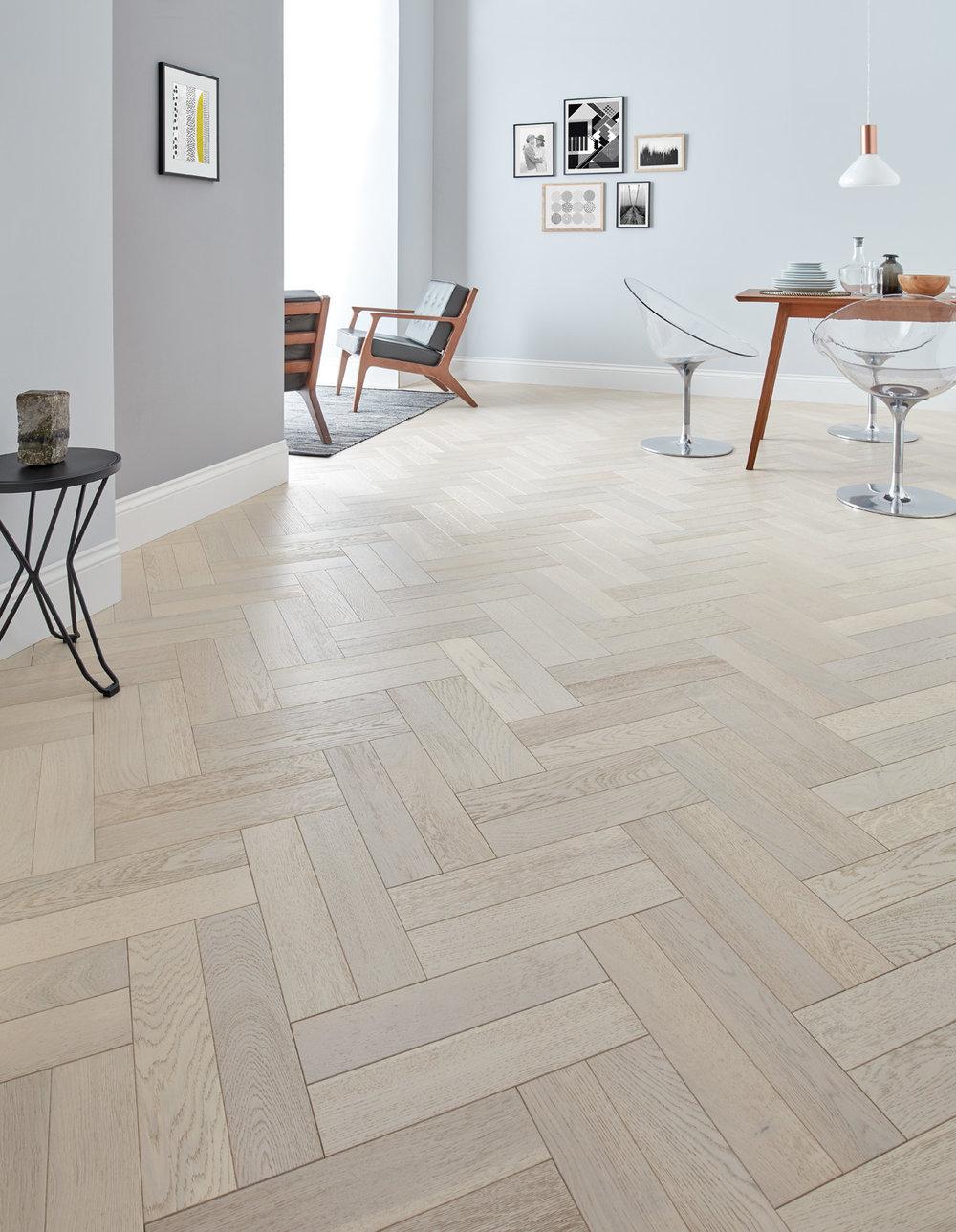 Goodrich Whitened Oak - spætte gulv