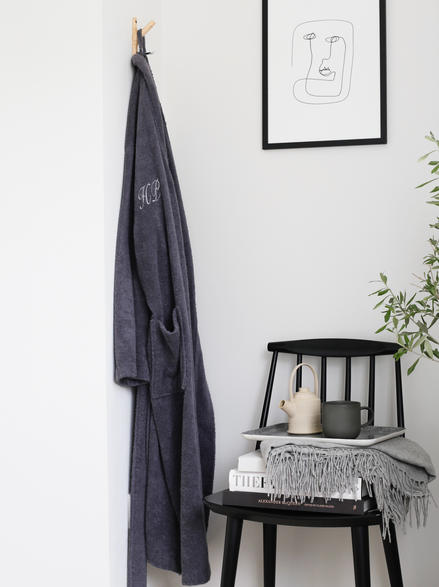 Soak&Sleep monogrammed dressing gown - Design Hunter