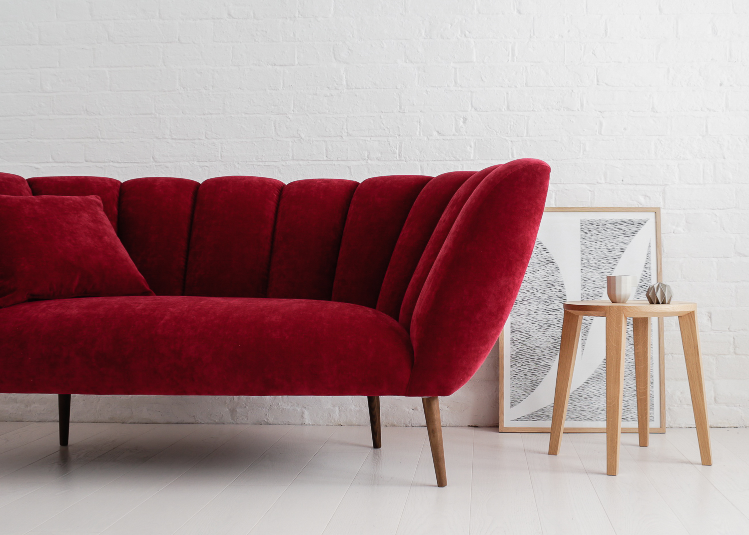 A my sofa  & L ara small side table  by Carsten Astheimer