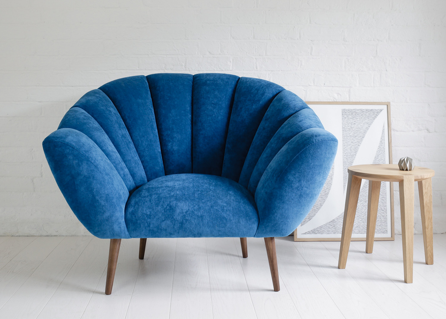 Amy armchair  &  Lara small side table  by Carsten Astheimer