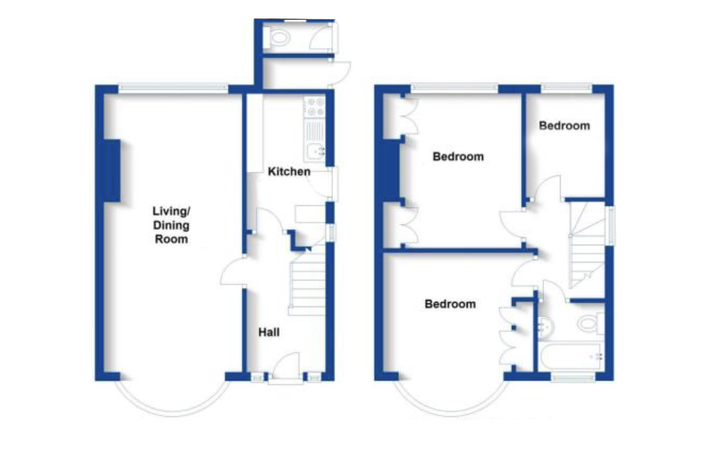 Floor plan - before the renovation and extension.png