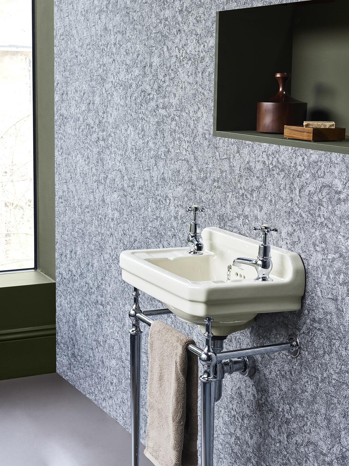 Medici ivory basin and chrome wash stand - Burlington Bathrooms 1200px.jpg
