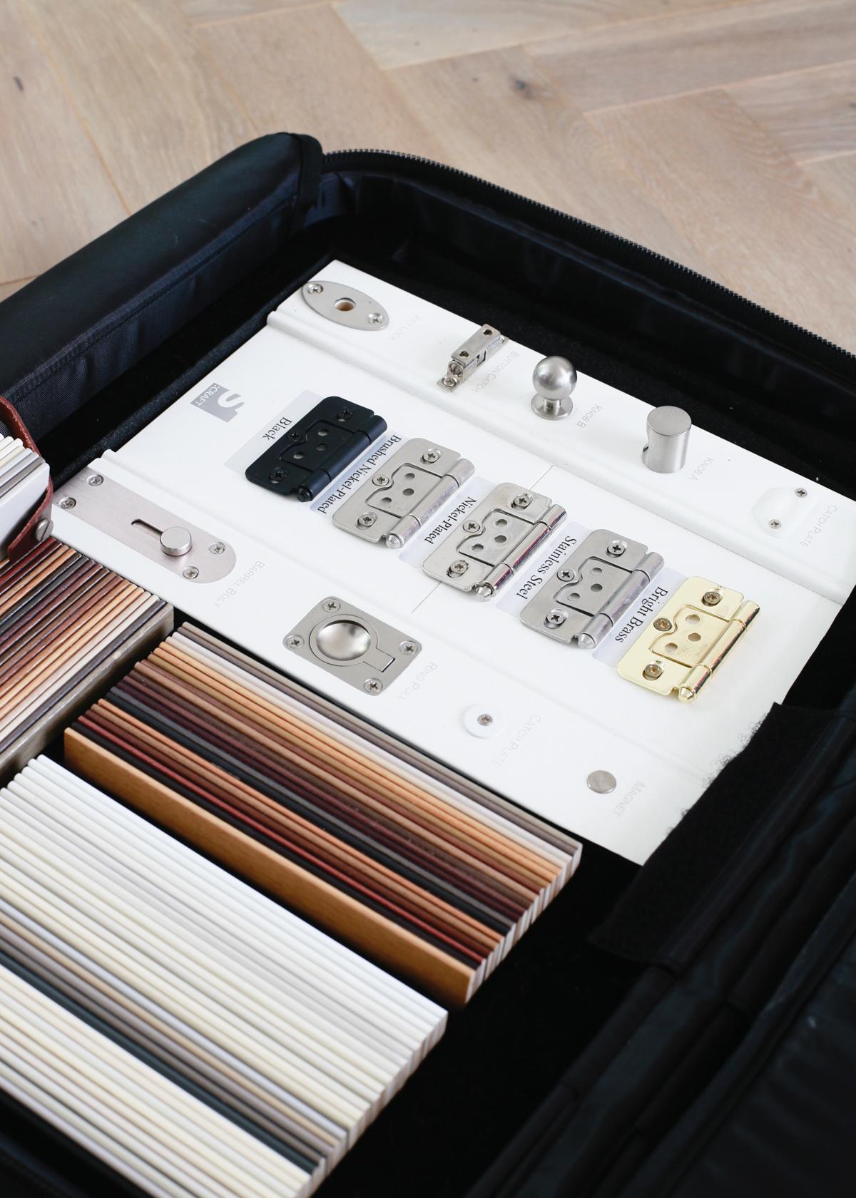Shutter and hinge samples from Apollo Blinds 5 x 7 - Design Hunter-1.jpg