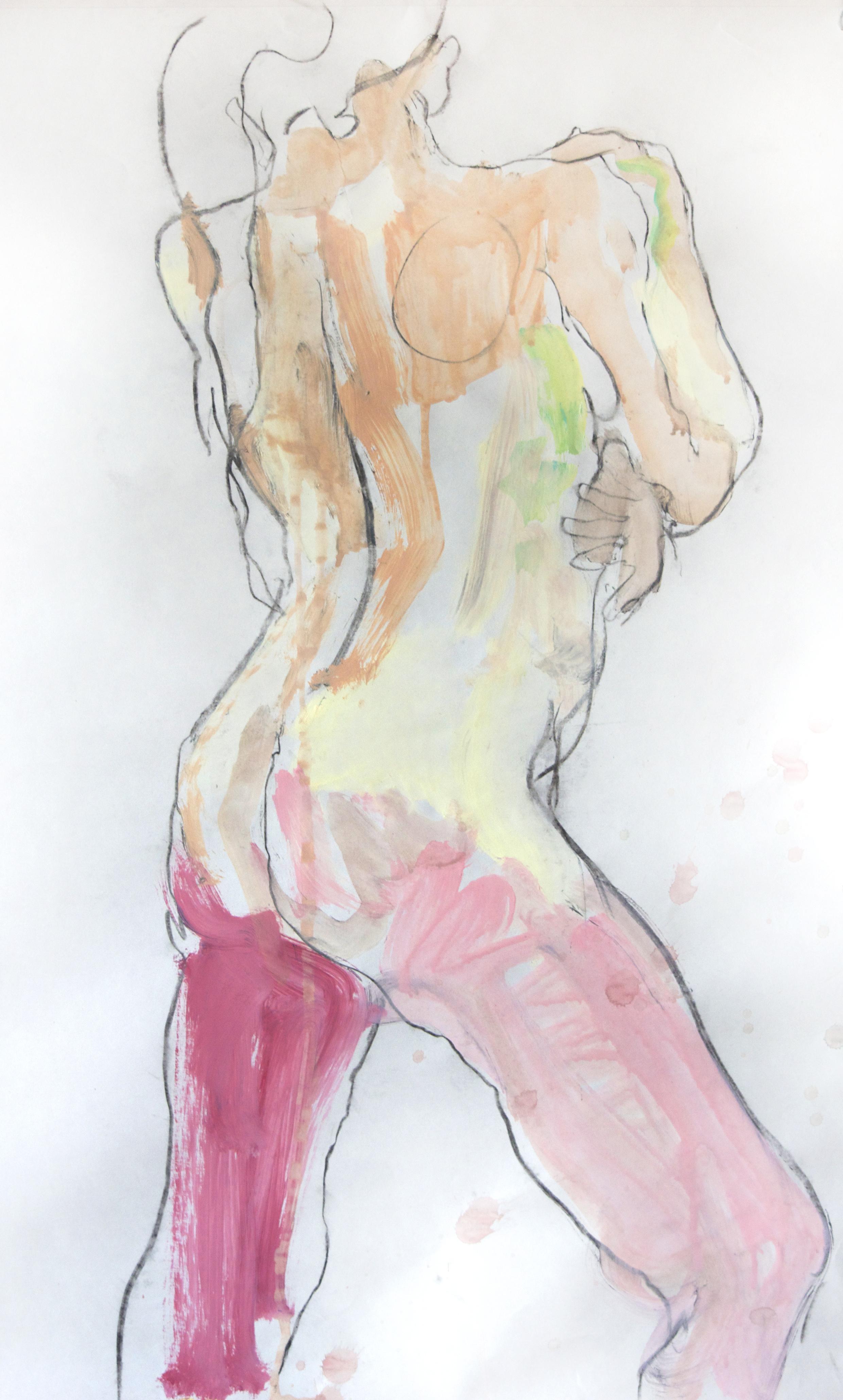Nude. Mixed Media. 2015