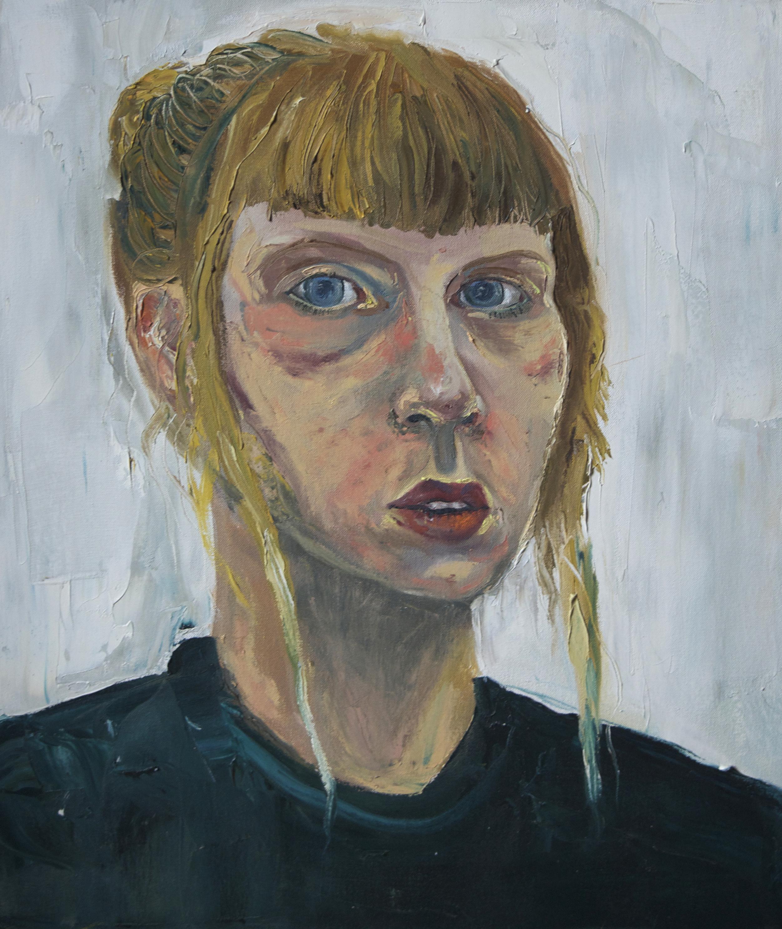 Self Portrait.  Oil. 2013