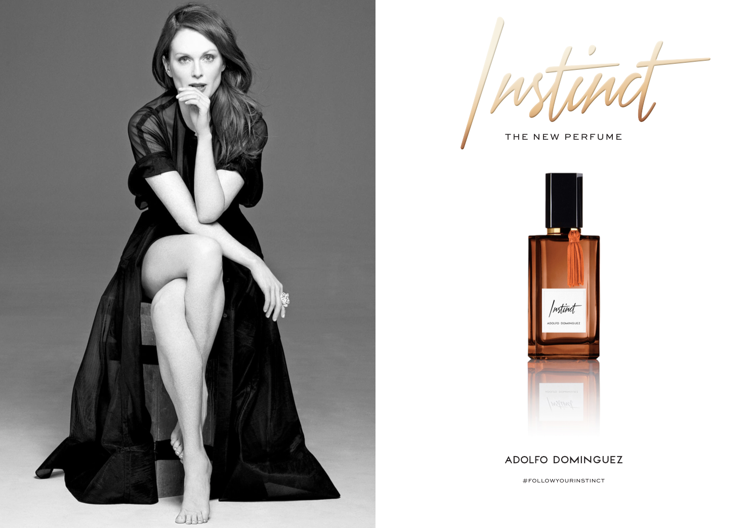 Branding perfume Adolfo Dominguez