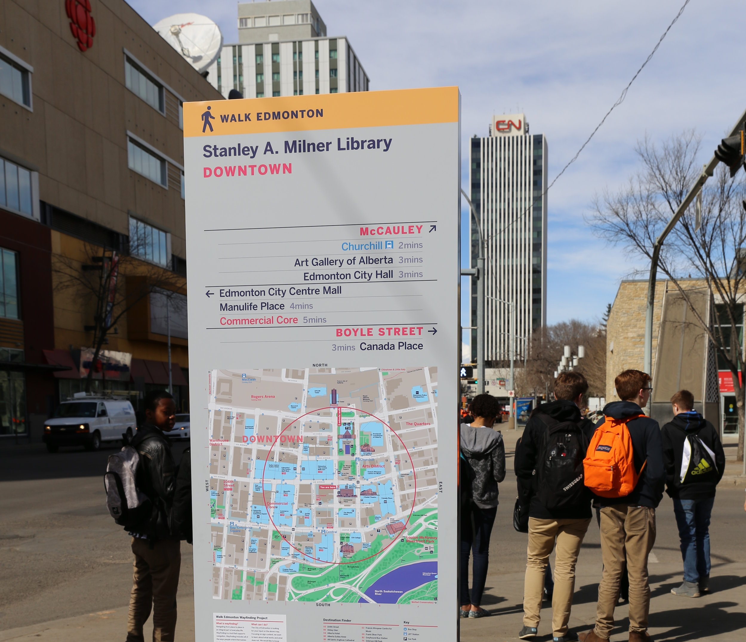 Strengthening Commercial Districts: A Guide to Downtown Wayfinding