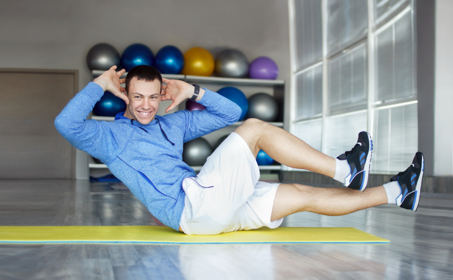 Strengthen your core without doing sit-ups!