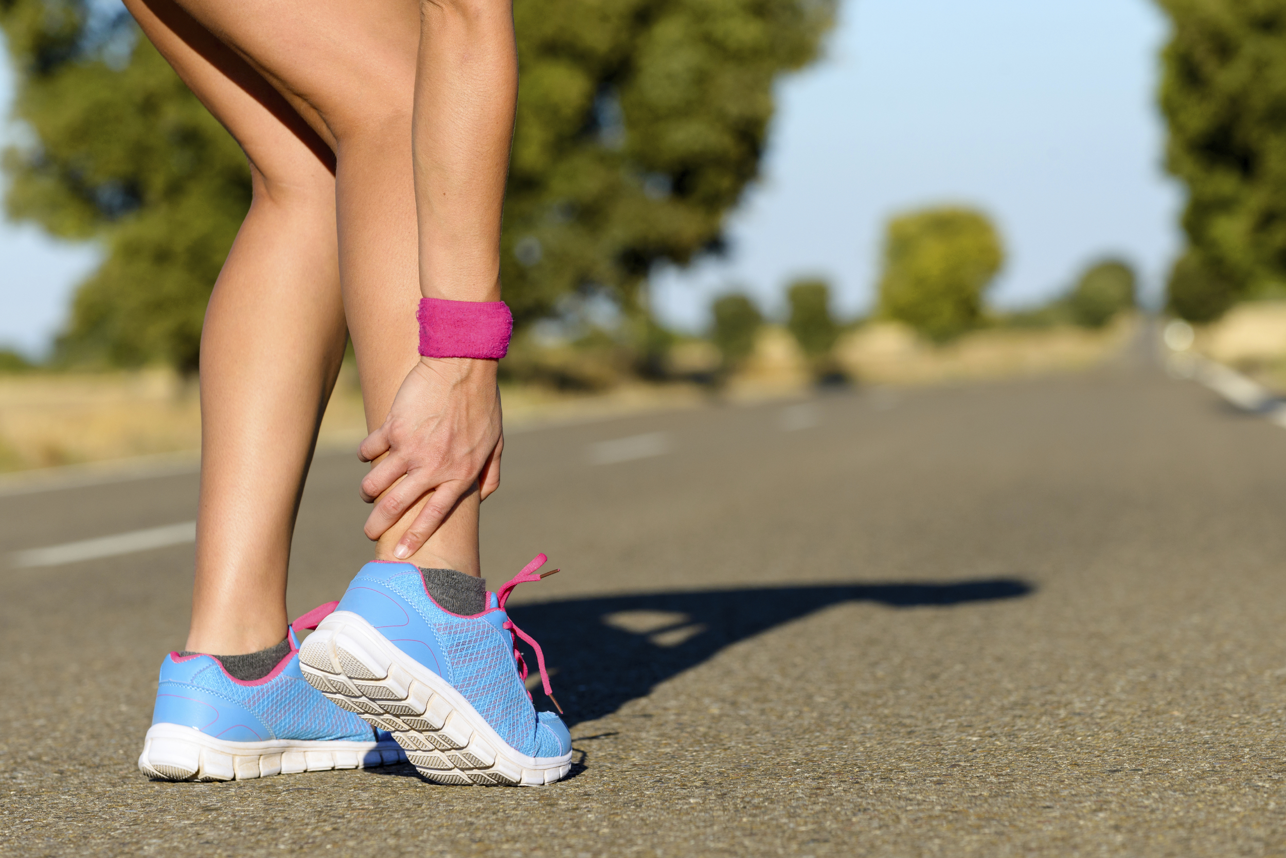 An ankle injury could be a fracture, sprain, strain, or tendinitis