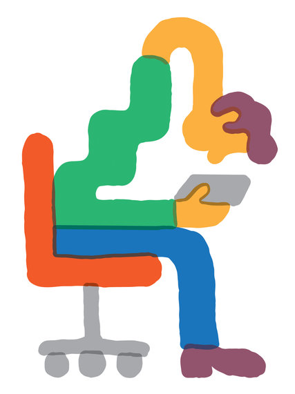 Illustration by Tim Lahan from the New York Times