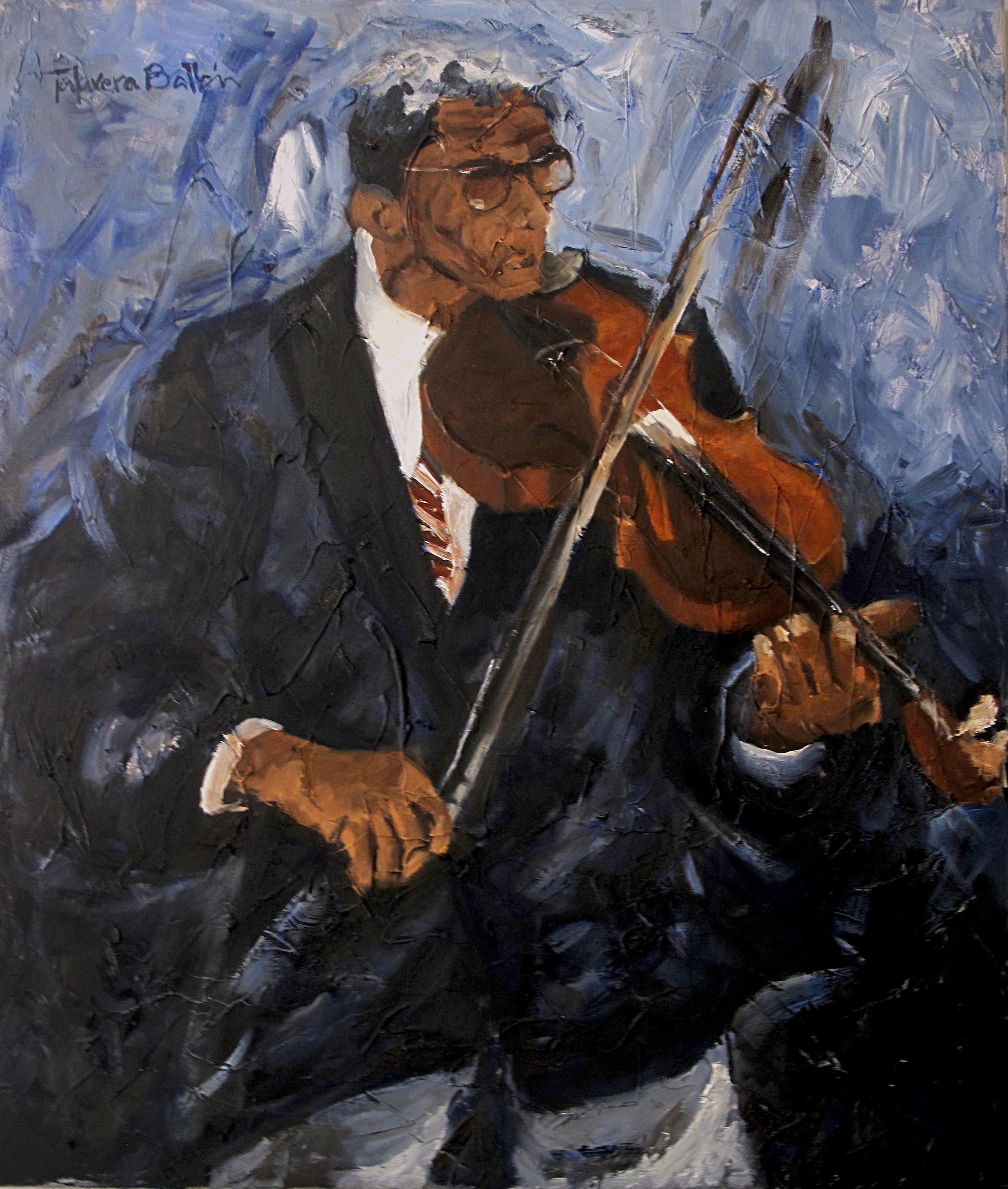 """""""El Violinista"""" by Talavera-Ballón"""