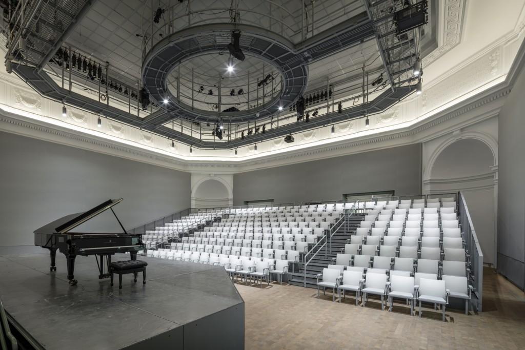 Taube Atrium Theater - Diane B. Wilsey Opera Center