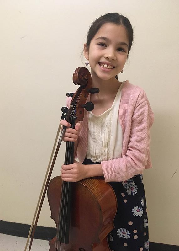Starla Breshears, cello