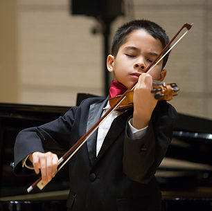 Dustin Breshears, violin