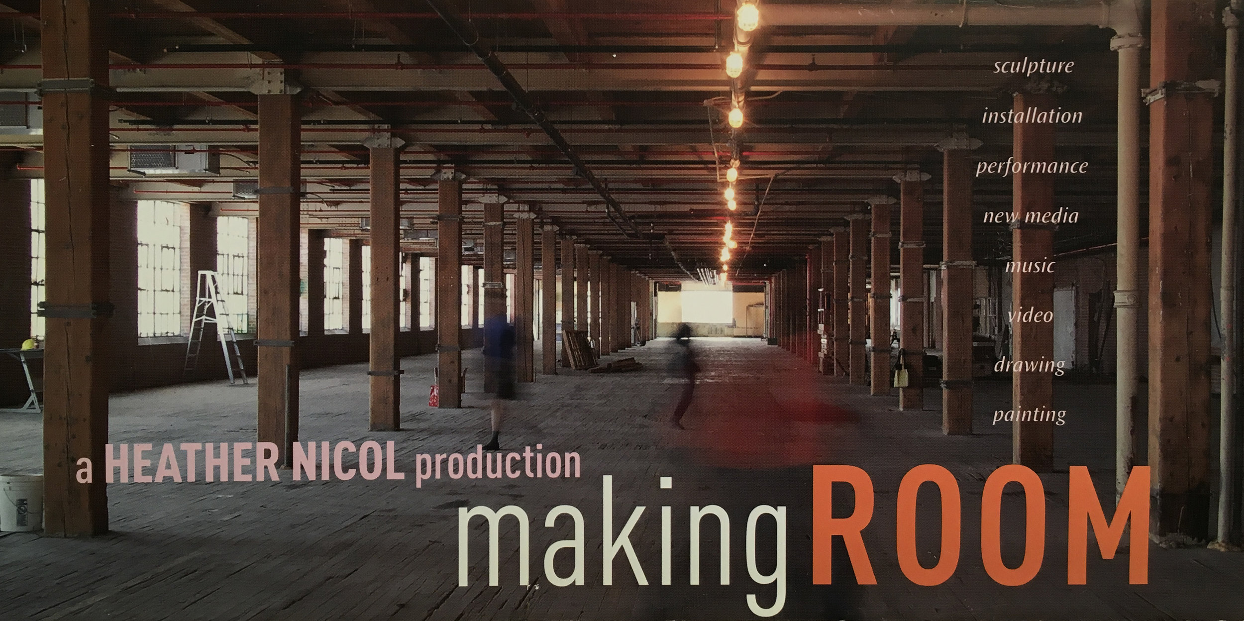 Making ROOM Poster