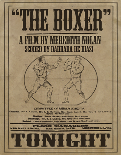 A young boy goes to a 19th Century bare knuckle boxing match to watch two experienced fighters compete. One boxer tries to buy the other out to win the tournament. - The Boxer was conceived and completed within the span of three months:January 9, 2013 - April 9, 2013.Digital, TVPaint Animation, Photoshop, After EffectsProgress | Like on Facebook