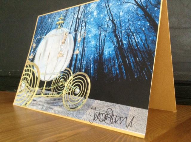 Fairy Tale Cinderella Card