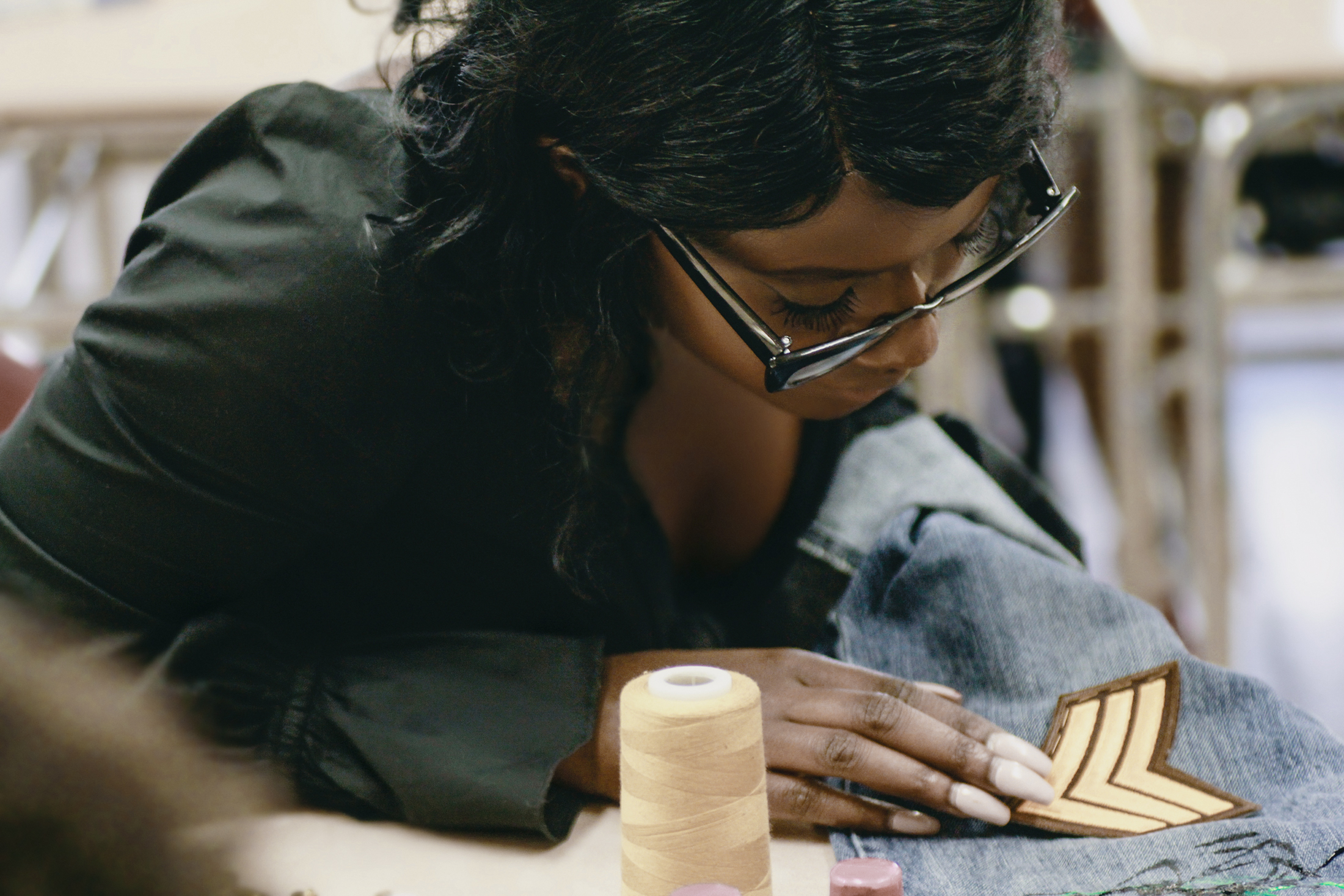 Tasheema Felder Denim Bandit Workshop