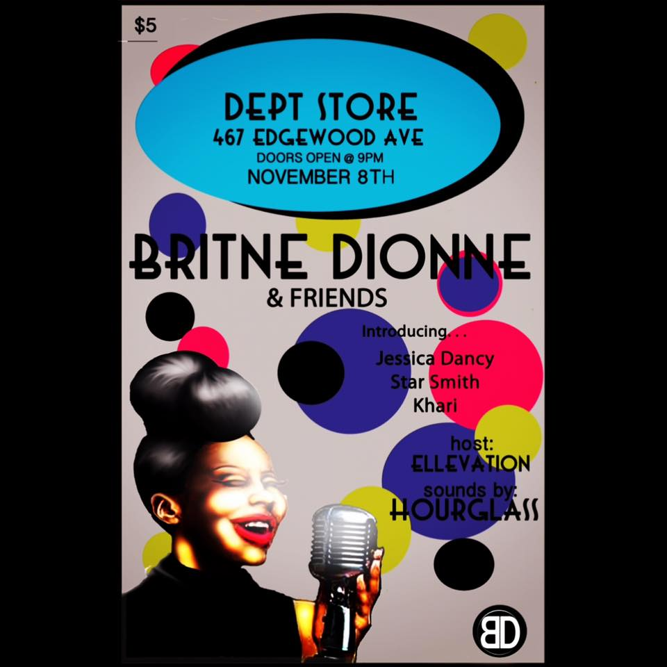 My girl Britne Dionne is an incredible talent, and she's also not afraid to share the spotlight.