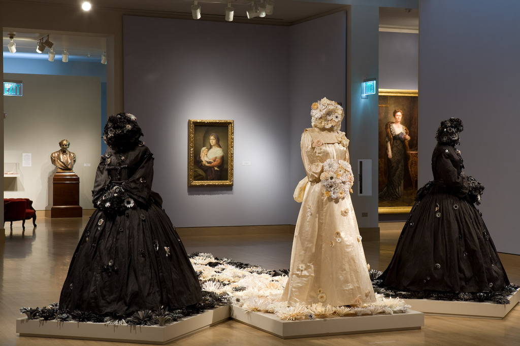 """Heaven Is Being A Memory To Others"" exhibit at the Frye Museum in Seattle"