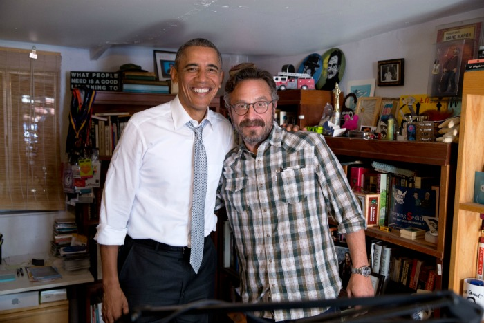 Marc Meets Obama :Photographs from President Obama's visit to The Garage ( Squarespace )