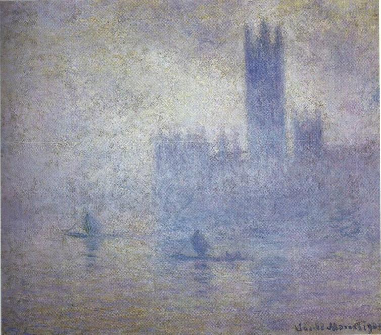 Le Parlement, Effet de Brouillard  , 1903,  Museum of Fine-Arts , St. Petersburg, Florida