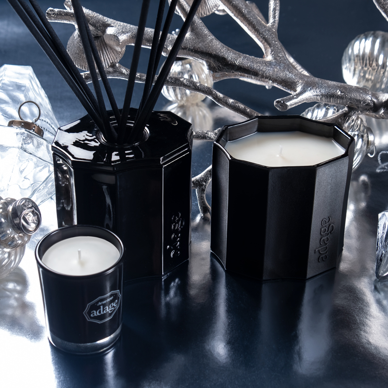 Signature collection: reed diffuser and candles