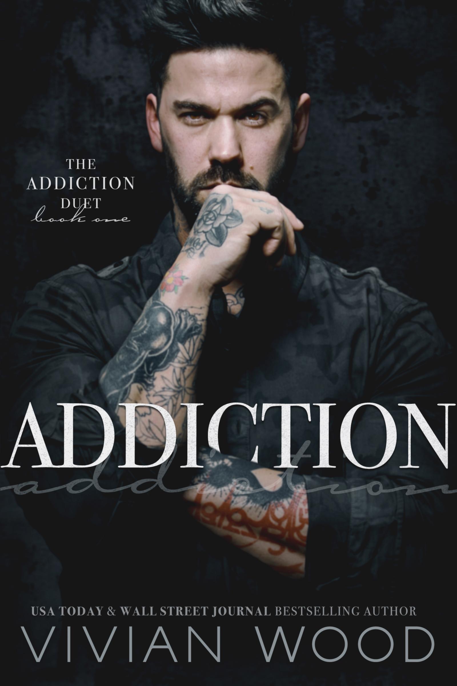 Addiction - Cover model Jonny James